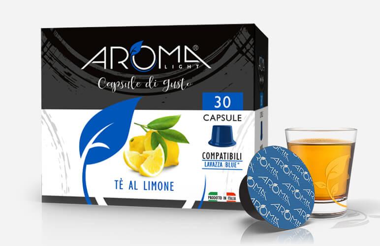 lavazza blue tè al limone